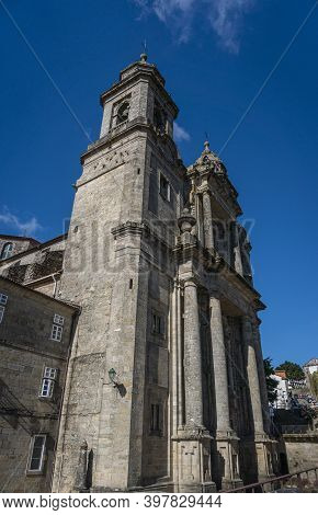 San Francisco (saint Francis) Church In The City Of Santiago De Compostela, Spain
