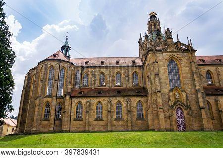 Benedictine Monastery In Kladruby By Jan Blazej Santini Aichel And Kilian Ignac Dientzenhofer, Plzen