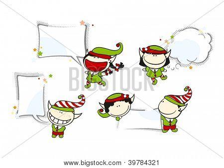 Funny kids #69 - Christmas backgrounds