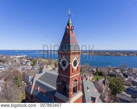 Abbott Hall, Built In 1876, Is Located At 188 Washington Street And Now Is Town Hall Of Marblehead,