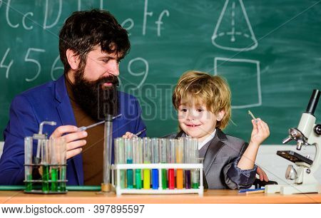 Genius Minds. Genius Toddler Private Lesson. Teacher Child Test Tubes. Genius Kid. Achieving Develop