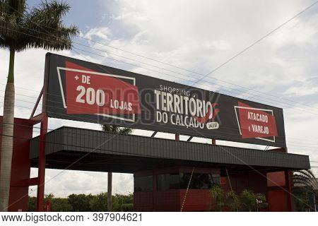 Jau / Sao Paulo / Brazil - 02 21 2020: Footwear Territory Shopping (