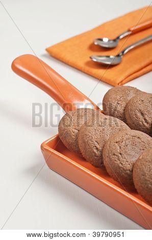 Brown Chocolate Cookies
