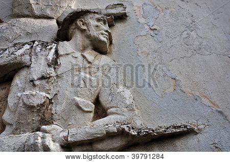 Soldier With Broken Bayonet