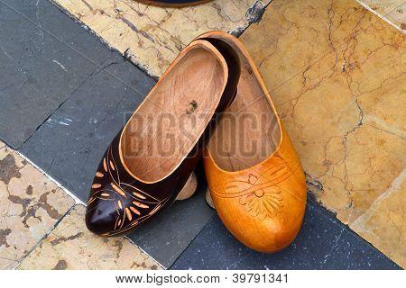 Asturias typical footwear