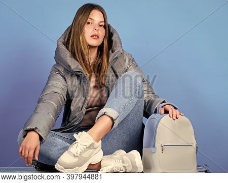 Purposeful Layering Is Perfect Way To Achieve Warmth. Modern Style. Aesthetically Pleasing Style. In