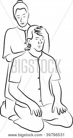 shiatsu massage technique