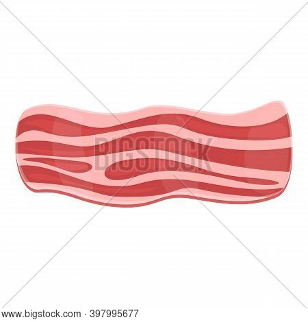 Bacon Fresh Icon. Cartoon Of Bacon Fresh Vector Icon For Web Design Isolated On White Background