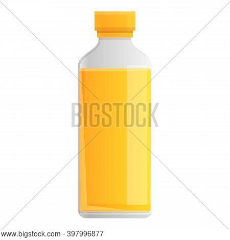 Canola Plastic Bottle Oil Icon. Cartoon Of Canola Plastic Bottle Oil Vector Icon For Web Design Isol