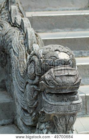 Serpent on Stairway