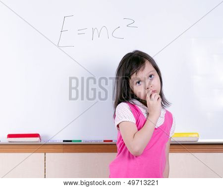 Child At Whiteboard