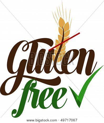 Gluten free message