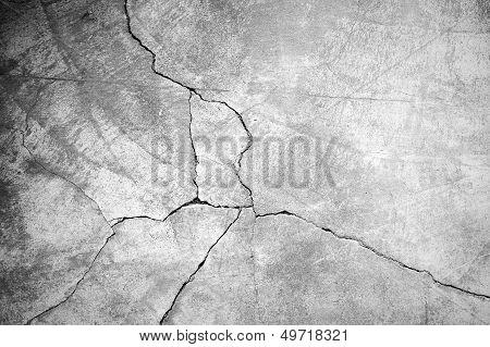 Parede de cimento concreto grunge