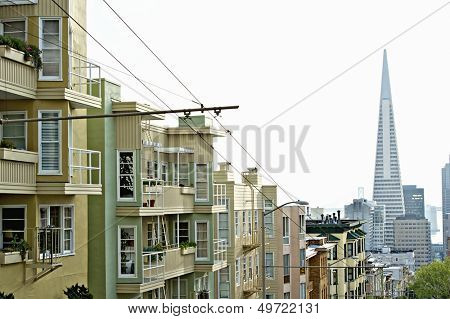 Transamerica Pyramid San Francisco designed by William Pereira