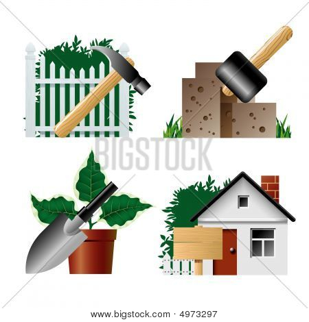 Landscaping Icons 1