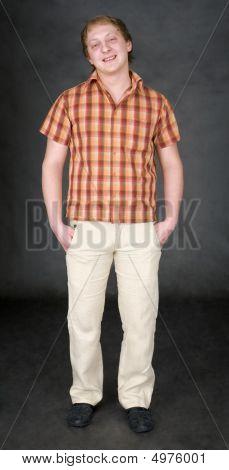 Portrait Smug Guy