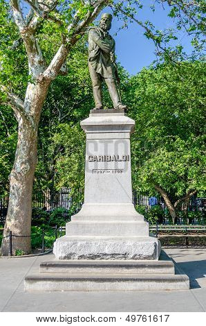 Monument To Garibaldi, Washington Square, New York