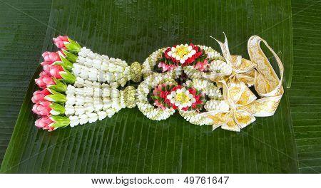Flower Garland Thai Style