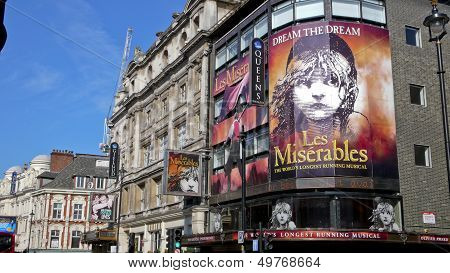 Shaftesbury Avenue. London. United Kingdom