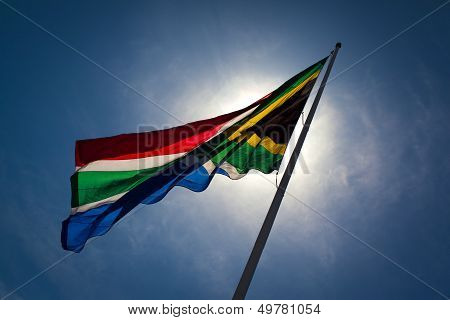 South-African flag.