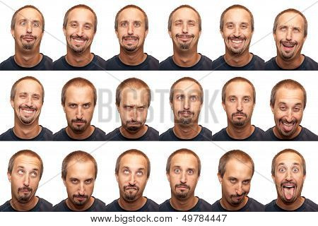 Expressions - Thirty Something Aged Man