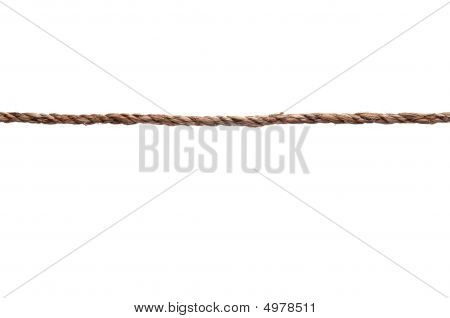 Tightly Stretched Length Of Rope