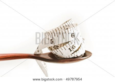Spoon And Measuring Tape