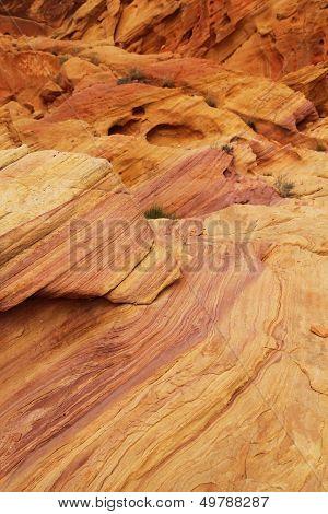 Stratified Rock