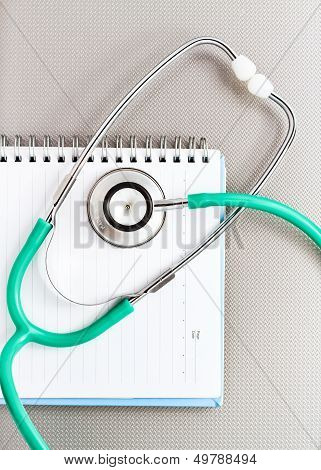 Medical Stethoscope Concept.