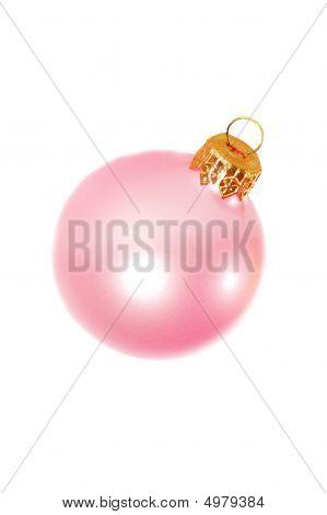 Rosa Weihnachtsdekoration