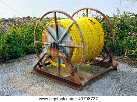 Large Hose Pipe Reel