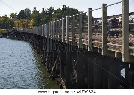 Galloping Goose Trail Bridge, Victoria