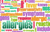 Allergies and the Allergic Symptoms as a Concept poster