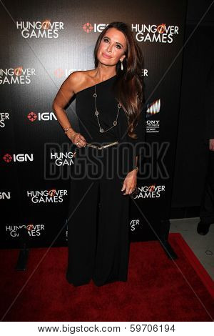LOS ANGELES - FEB 11:  Kyle Richards at the