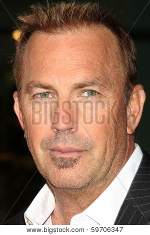 LOS ANGELES - FEB 12: Kevin Costner at the