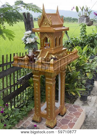 Spirit House, Thailand Culture