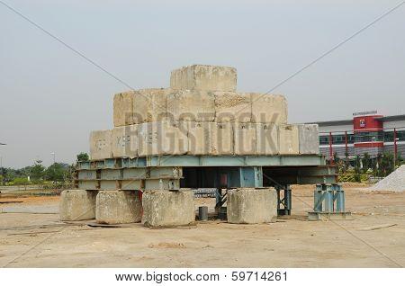 Static Pile Load Test