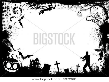 Halloween Border Images, Illustrations & Vectors (Free) - Bigstock