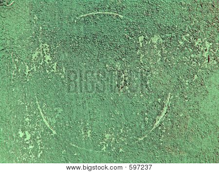 Abstract Green Ground Texture