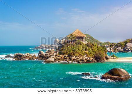 Beautiful Tayrona Beach