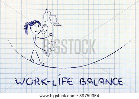Work Life Balance & Managing Responsibilities: Working Mother Juggling