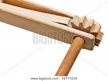 Treshchotka (clapper) Musical Instrument Close Up