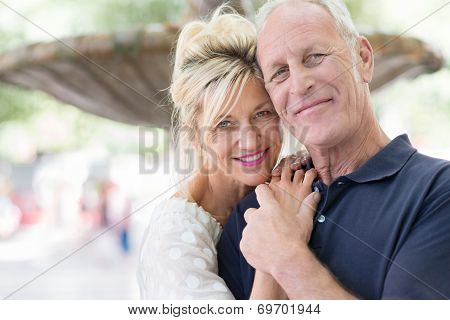 Attractive Romantic Middle-aged Couple