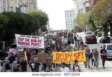 Occupy Wall Street West, San Francisco