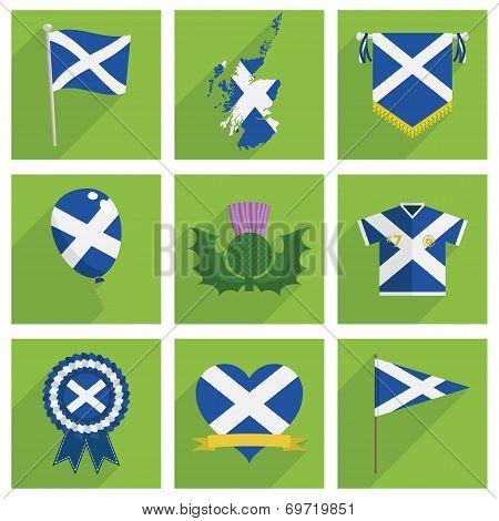Scotland Icons