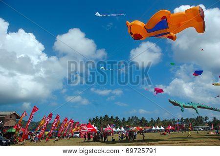 pangandaran international kite festival