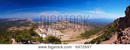 Crater Lake 60 Megapixel Panorama