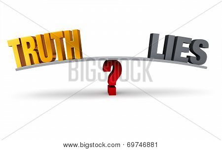 Choosing Between Truth And Lies