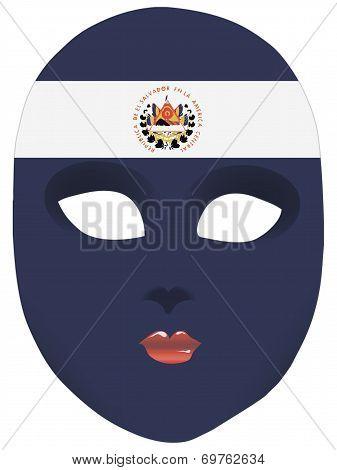 El Salvador Mask