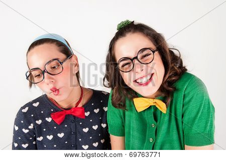 Young Nerdy Girls